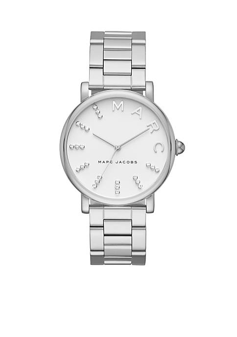Marc by Marc Jacobs Womens Stainless-Steel Glitz Roxy
