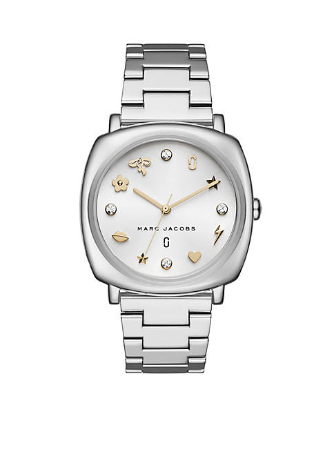 Marc by Marc Jacobs Womens Stainless Steel And