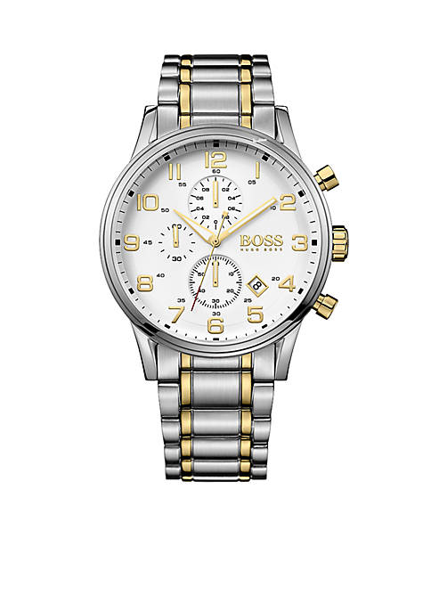 BOSS by Hugo Boss Mens Aeroliner Quartz Chronograph