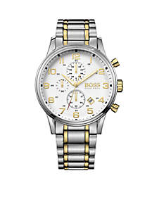 Men's Aeroliner Quartz Chronograph Watch