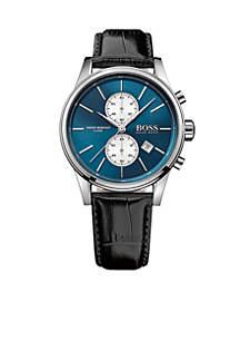 Men's Jet Quartz Chronograph Watch