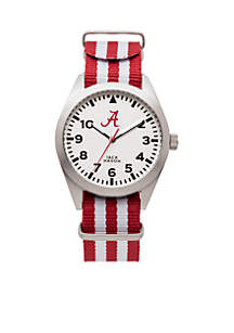 Alabama Striped Strap Watch
