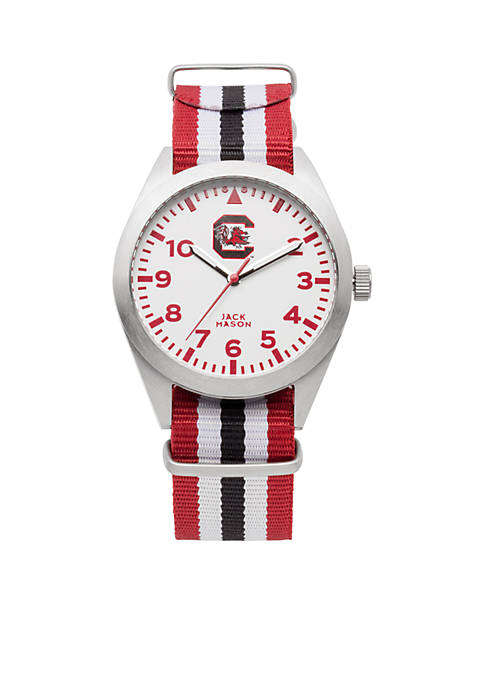Jack Mason South Carolina Nato Striped Strap Watch