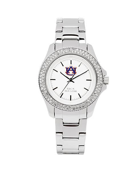 Jack Mason Womens Auburn Glitz Sport Bracelet Watch