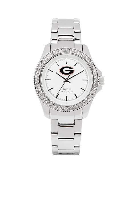 Jack Mason Womens Georgia Glitz Sport Bracelet Watch