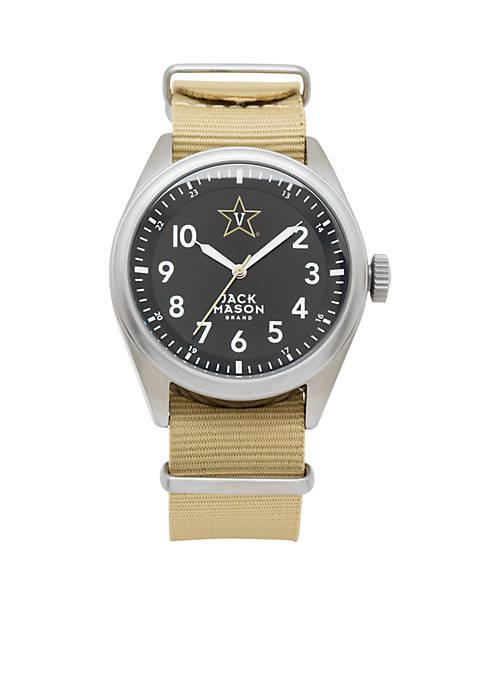 Mens Vanderbilt Nato Solid Strap Watch