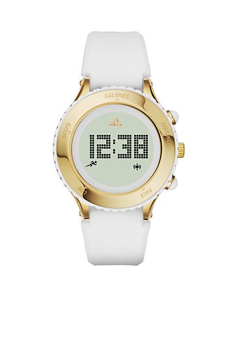 Performance Sprung Ladies White Silicone Digital Watch