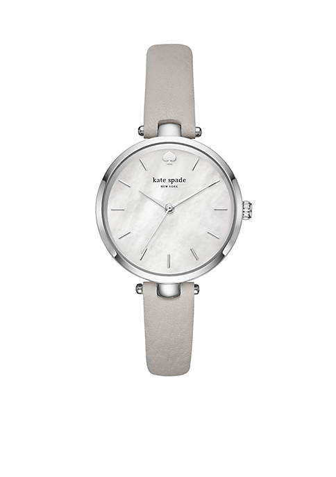 Womens Stainless Steel Holland Box Watch