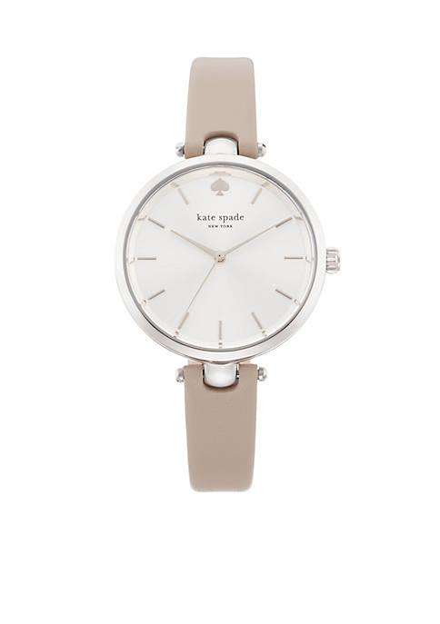 kate spade new york® Womens Stainless Steel Gray