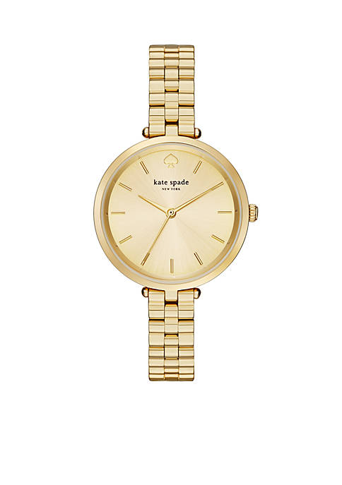 kate spade new york® Womens Holland Gold-Tone Stainless