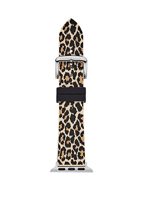 kate spade new york® Leopard Silicone Apple Watch®