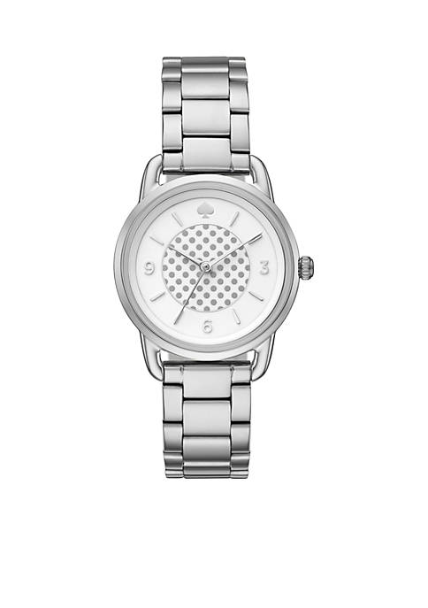 Womens Silver-Tone Boathouse Watch