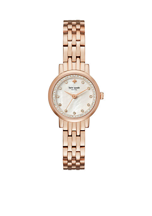 kate spade new york® Rose Gold-Tone Mini Monterey