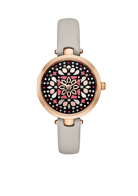 kate spade new york® Womens Holland Morroccan Dial