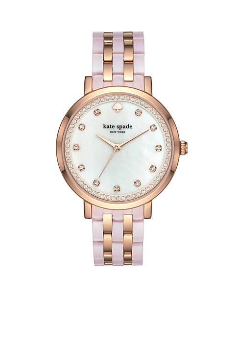 kate spade new york® Womens Mixed Material Monterey