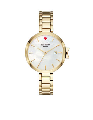c1cf97afe kate spade new york® Women's Gold-Tone Park Row Watch | belk
