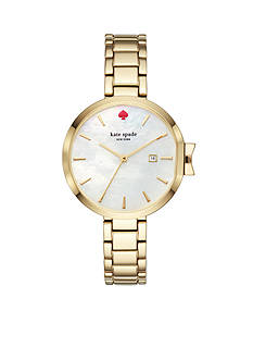 kate spade new york® Women's Gold-Tone Park Row Watch