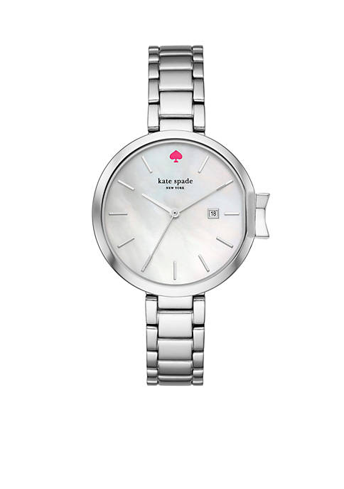 Womens Silver-Tone Park Row Watch
