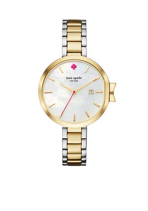 Womens Two-Tone Park Row Bracelet Watch