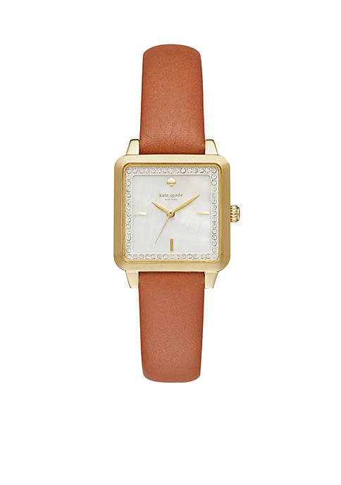 kate spade new york® Womens Gold-Tone Washington Square