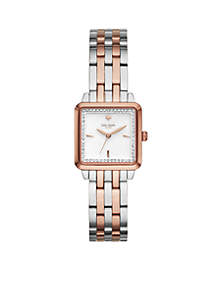 Women's Two-Tone Washington Square Bracelet Watch