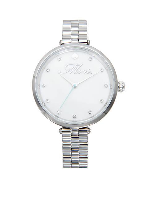 Silver-Tone Holland Mrs. Watch