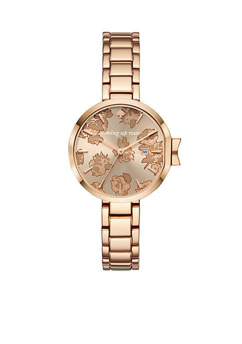 kate spade new york® Womens Park Row Rose
