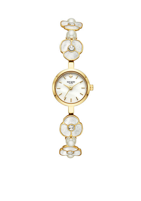 kate spade new york® Womens Metro Gold-Tone Stainless
