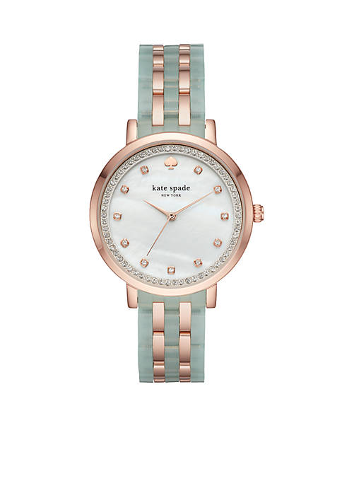 kate spade new york® Rose Gold-Tone Monterey Watch