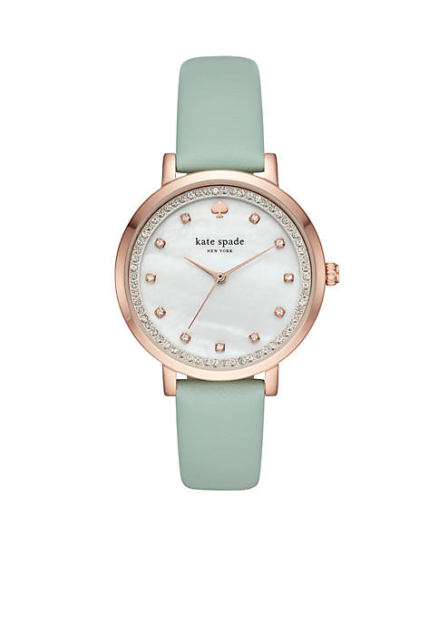 kate spade new york® Rose Gold-Tone Monterey Leather