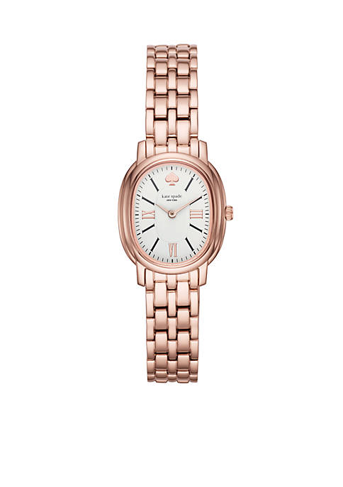 kate spade new york® Rose Gold-Tone Staten Watch