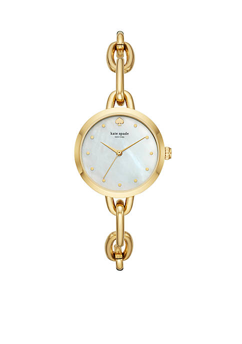 kate spade new york® Gold-Tone Stainless Steel Metro