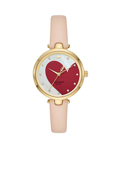 kate spade new york® Gold-Tone Holland Heart Vachetta