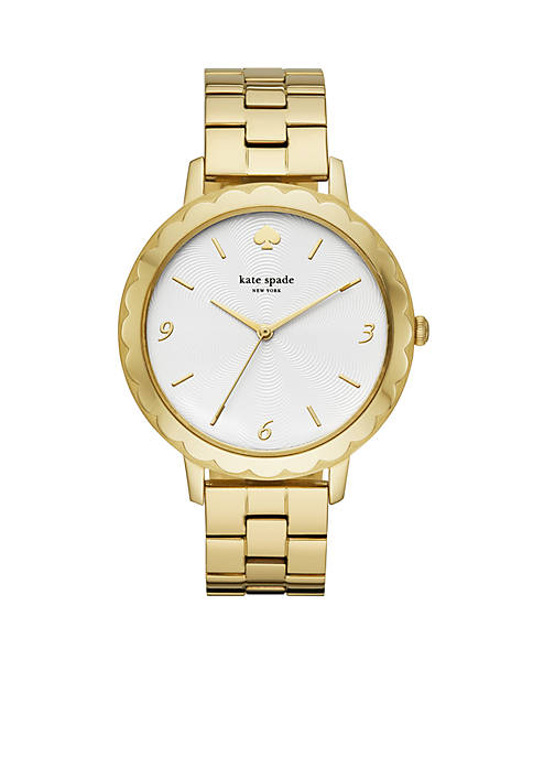 kate spade new york® Gold-Tone Stainless Steel Morningside