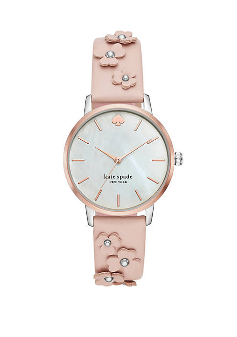 kate spade new york® Womens Metro Three-Hand Floral