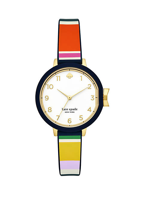 kate spade new york® Park Row Stripe Silicone