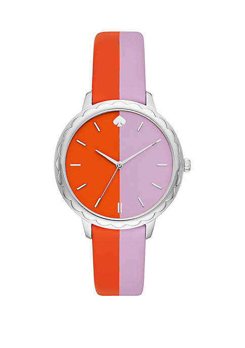kate spade new york® Morningside Bicolor Leather Watch