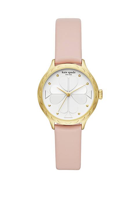 kate spade new york® Rosebank Leather Watch