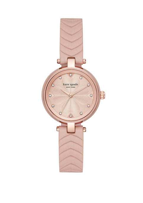 Womens Kate Spade New York Annadale Leather Strap Watch