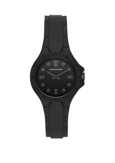 Skechers Womens Analog Altavan Black Watch