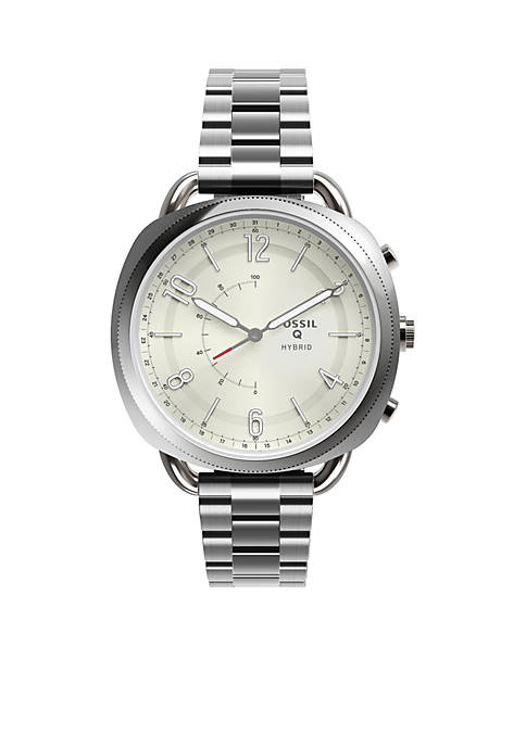 Fossil® Smartwatch Stainless Steel Hybrid Q Accomplice Smartwatch