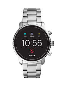 Fossil Q Gen 4 Smartwatch Q Explorist HR Smoke Stainless Steel