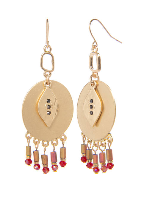 New Directions® Beaded Drop Earrings