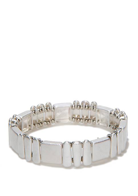 Casted Stretch Bracelet