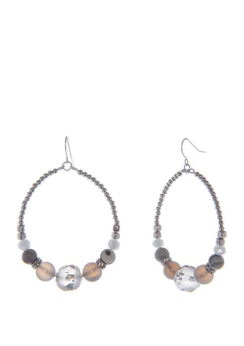 Frontal Hoop Earrings