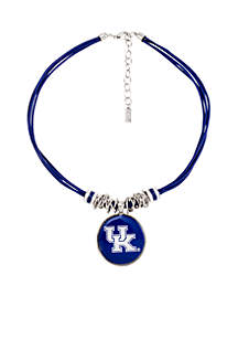 University of Kentucky Wildcats Silver-Tone Multi-Necklace