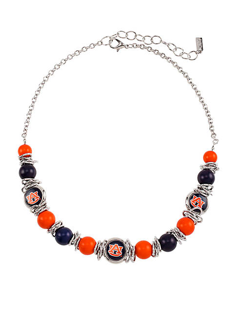 accessory PLAYS® One Row Logo Bead Scrunch Necklace