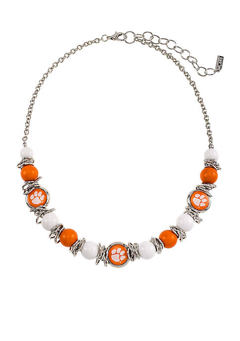 accessory PLAYS® Clemson University Tigers Beaded Scrunch
