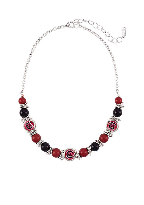 accessory PLAYS® USC Gamecocks One Row Logo Beaded