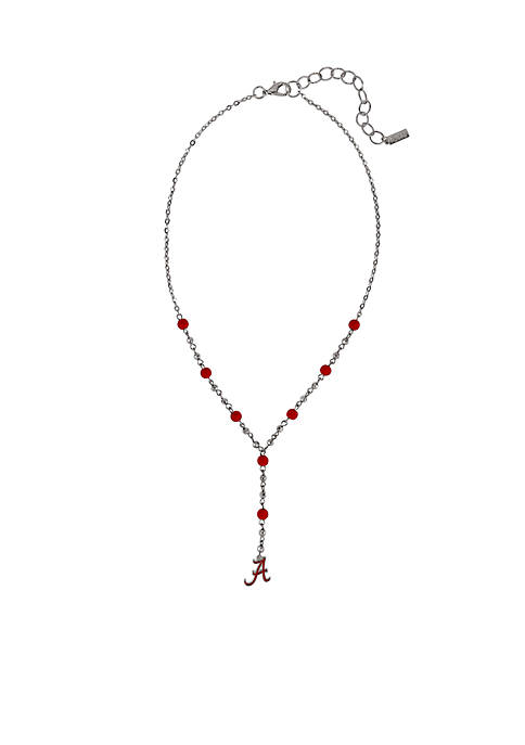 accessory PLAYS® Alabama Crimson Tide Logo Drop Necklace